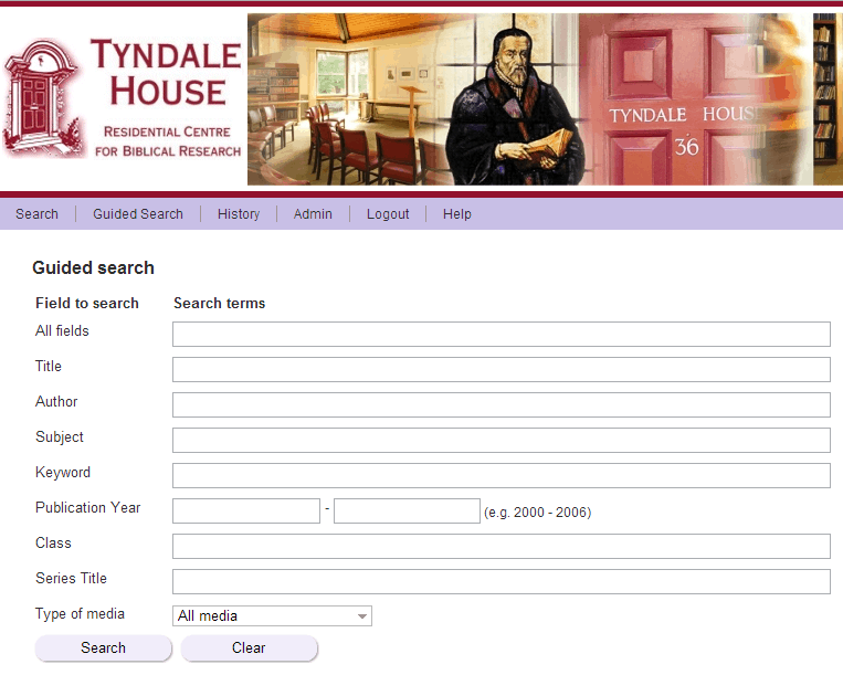 Tyndale House Global Library Project
