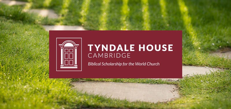 Tyndale House October Newsletter