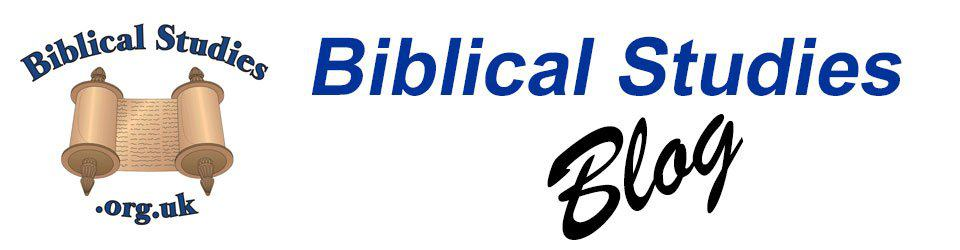 Biblical Studies Blog