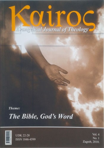 Kairos Evangelical Journal of Theology