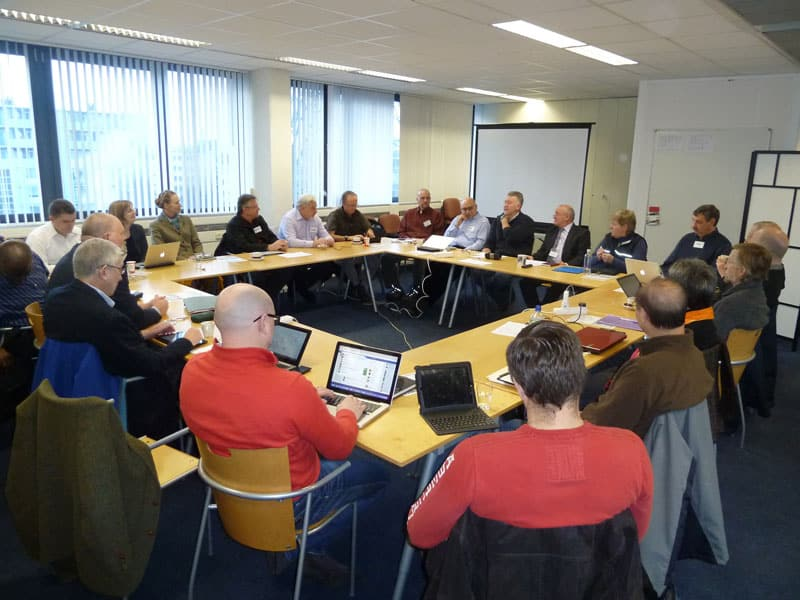 January colloquium of research students