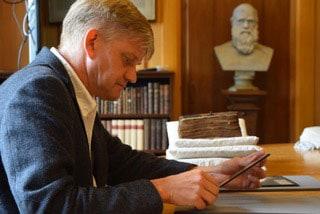Dr Dirk Jongkind, Vice Principal of Tyndale House
