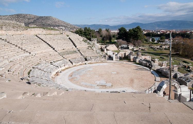 Ancient theatre - Philippi