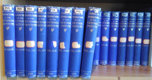 Journal of the Transactions of the Victoria Institute