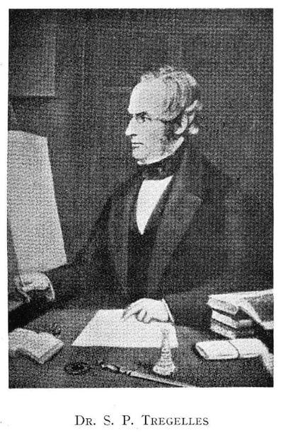 Samuel Prideaux Tregelles (30 January 1813 – 24 April 1875)