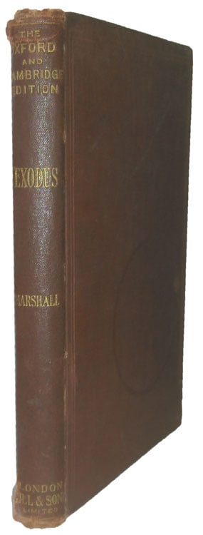 Frank Marshall [1848-1906], The Book of Exodus