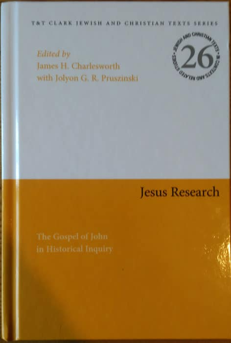 Front cover: The Gospel of John in Historical Inquiry
