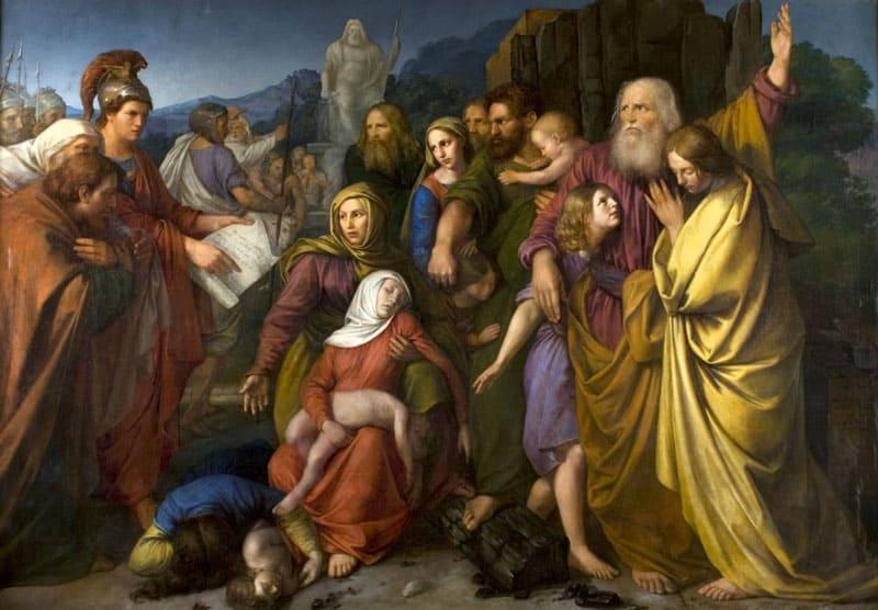 """Wojciech Stattler's """"Machabeusze"""" (""""The Maccabees""""), 1844"""