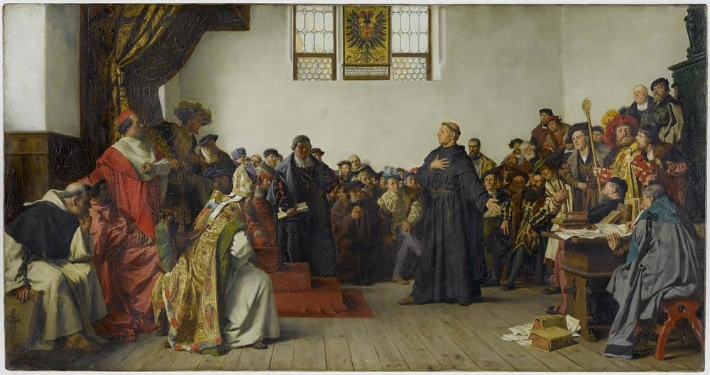 Luther at the Diet of Worms