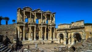 Ephesus. Library of Celsus.